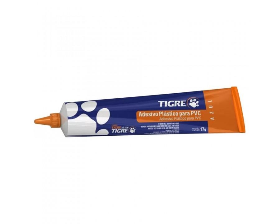 Adesivo tigre plast.pvc 17g