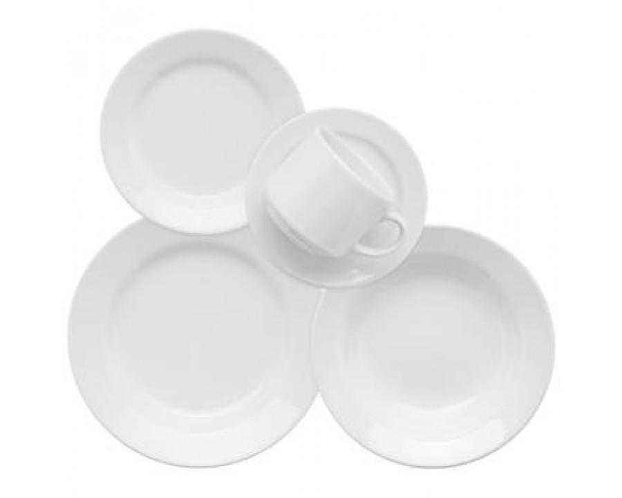Aparelho jantar/cha biona donna branco ae30-5002 30pcs