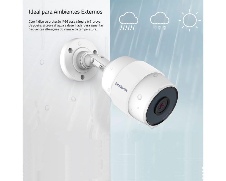 Camera seguranca intelbras wi-fi hd-ic5 4565244