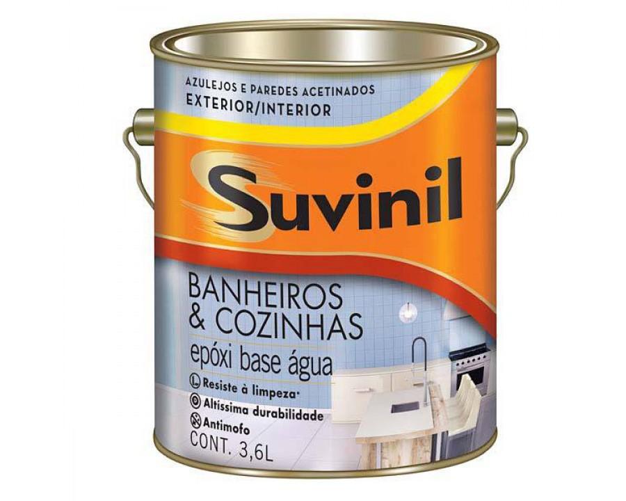 Tinta epoxi suvinil base agua banh.coz.3,6 lt branco