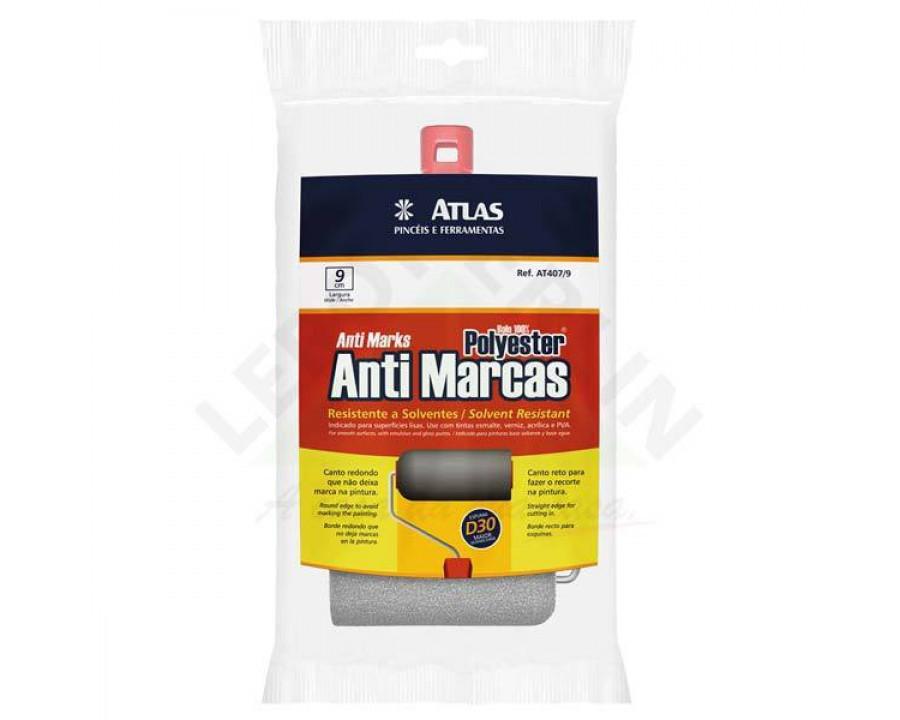 Rolo atlas poliester anti marcas 9cm at407/9