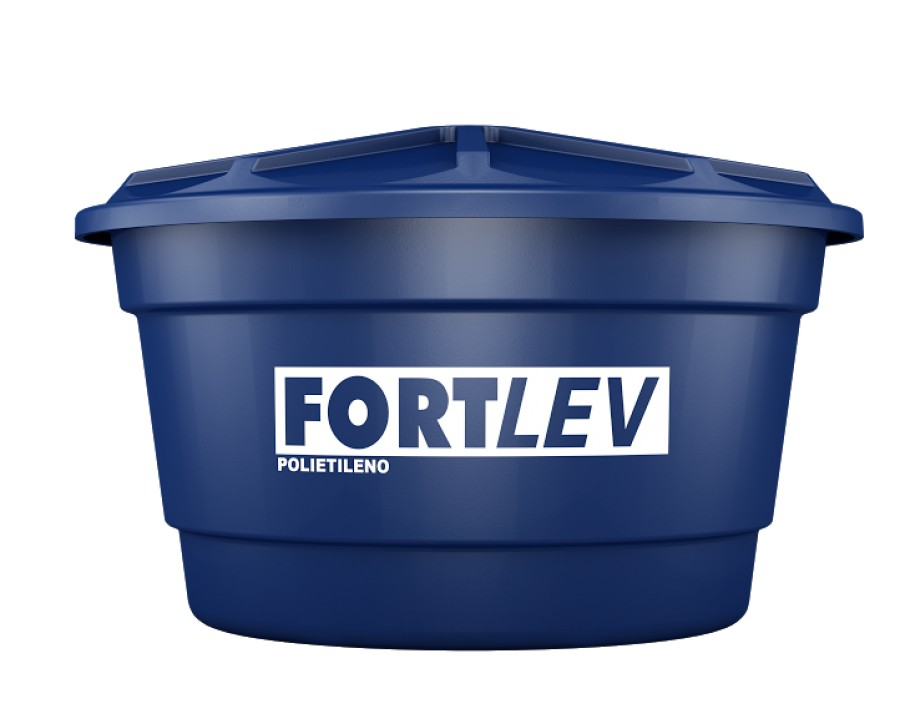 Reserv.p/agua fortlev 150lts polietileno