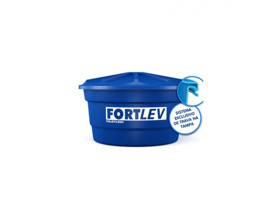 Reserv.p/agua fortlev. 2.000lts polietileno