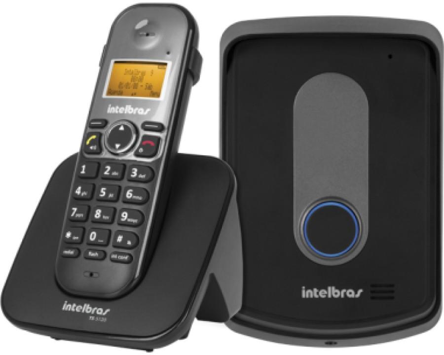 Telefone intelbras s/fio 4521102 tis 5010 + ramal externo