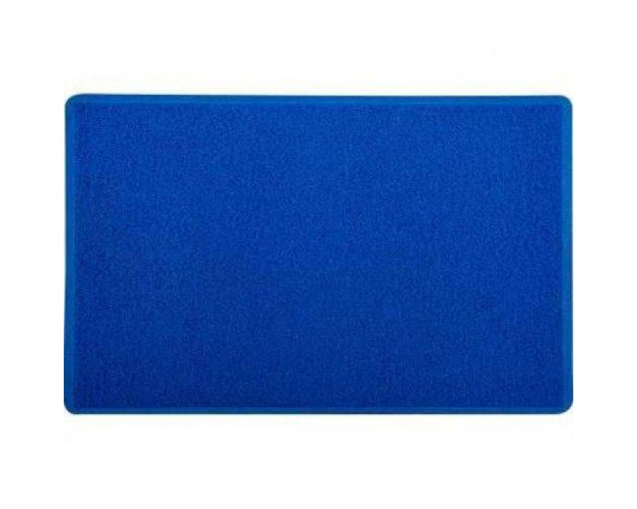 Vinil kapazi br silver 60x90cm azul royal 10mm 01571301